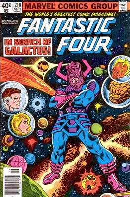 Fantastic Four Vol. 1 (1961-1996) (saddle-stitched) #210