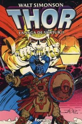 Thor: La saga de Surtur (1998) (Rústica 176-144 pp) #1