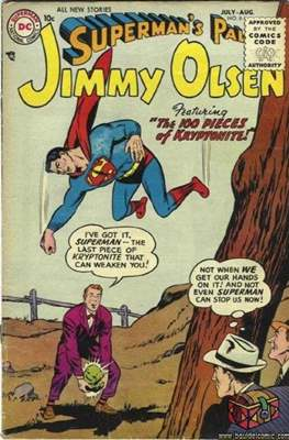 Superman's Pal, Jimmy Olsen / The Superman Family (Comic Book) #6