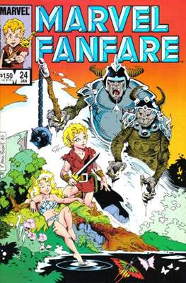 Marvel Fanfare Vol 1 (Comic-Book) #24