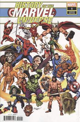 History of the Marvel Universe (Variant Cover) (Comic Book) #1.2