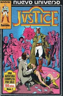 Justice (1988-1989) (Grapa. 17x26. 24 páginas. Color.) #1