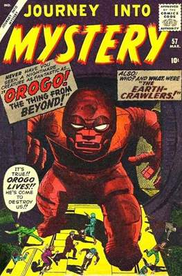 Journey into Mystery / Thor Vol 1 (Comic Book) #57