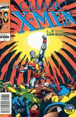Classic X-Men Vol. 1 (1988-1992) (Grapa 32 pp) #34