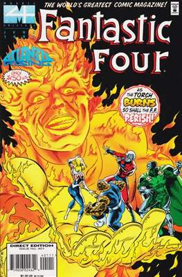 Fantastic Four Vol. 1 (1961-1996) (saddle-stitched) #401