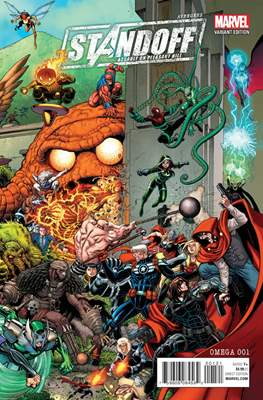 Avengers Standoff Assault on Pleasant Hill Omega (Variant Covers) #1