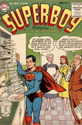 Superboy Vol.1 / Superboy and the Legion of Super-Heroes (Comic Book) #41