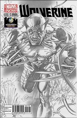 Wolverine (2014 Variant Cover) (Comic Book) #1.6