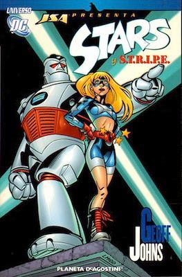 JSA presenta: Stars y S.T.R.I.P.E. Universo DC.