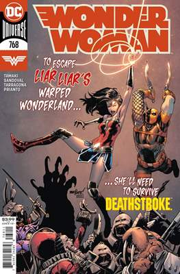 Wonder Woman Vol. 1 (1942-1986; 2020-) (Comic Book) #768