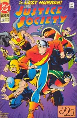 Justice Society of America Vol. 2 (1992-1993) #10