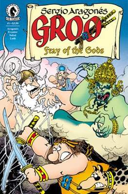 Groo: Fray of the Gods (2016-2017) (Grapa) #1