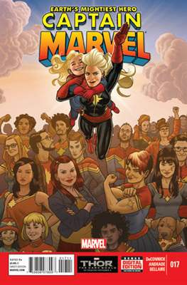 Captain Marvel Vol. 7 (2012-2014) (Comic-Book) #17