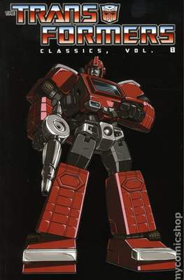 Transformers Classic (Softcover, 348-276 pp) #8