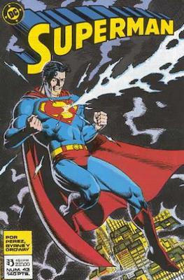Superman: El Hombre de Acero / Superman Vol. 2 (Grapa 36 pp) #43