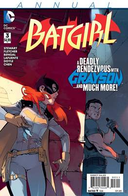 Batgirl Vol. 4 Annual (2012-2015) (Comic Book) #3