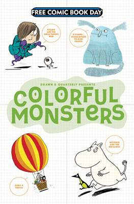 Colorful Monsters - Free Comic Book Day