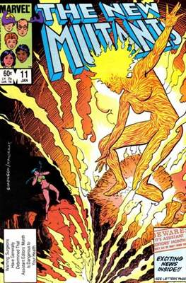The New Mutants (Grapa) #11