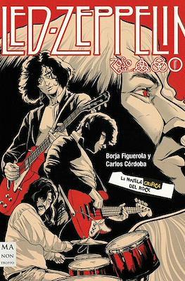 Led Zeppelin La novela gráfica del rock (Rústica 96 pp) #