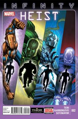 Infinity: Heist Vol 1 (Comic Book) #2