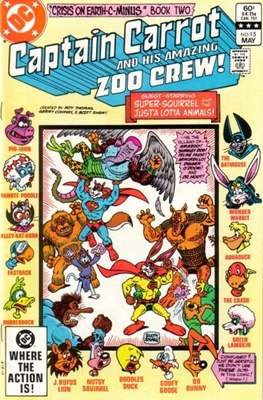 Captain Carrot and his amazing Zoo Crew (Comic Book) #15
