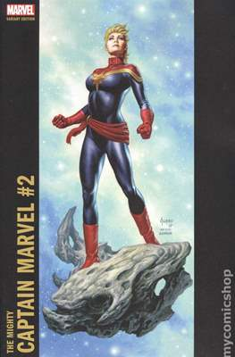 The Mighty Captain Marvel (2017-) Variant Covers #2.2
