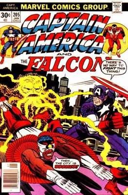Captain America Vol. 1 (1968-1996) (Comic Book) #205