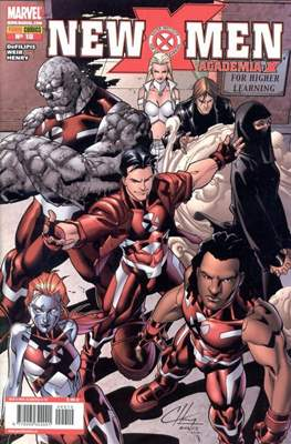 New X-Men: Academia / New X-Men (2005-2008) (Grapa) #10
