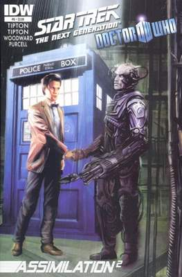 Star Trek: The Next Generation/Doctor Who: Assimilation² (Comic Book 24 pp) #6