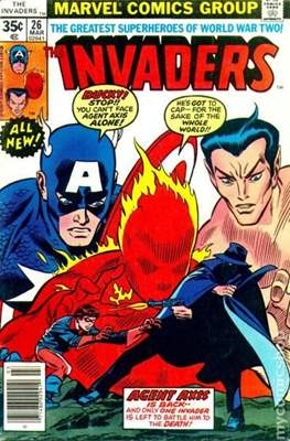 The Invaders (Comic Book. 1975 - 1979) #26