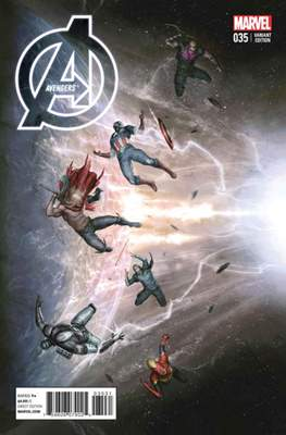Avengers Vol. 5 (2013-2015 Variant Covers) (Comic Book) #35
