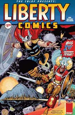 The CBLDF Presents: Liberty Comics (Variant Cover) (Comic Book) #1