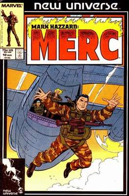 Mark Hazzard Merc (Comic-book.) #10