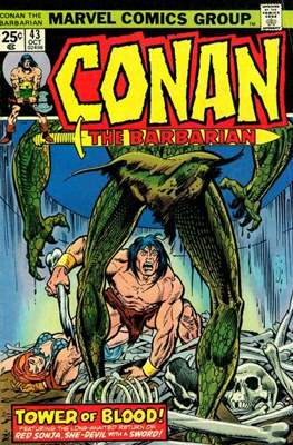 Conan The Barbarian (1970-1993) (Comic Book 32 pp) #43