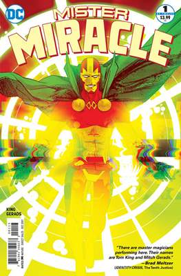 Mister Miracle (Vol. 4 2017- Variant Covers) (Comic Book) #1.3