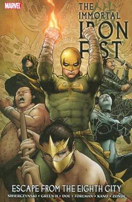The Immortal Iron Fist (2007-2009) (Softcover 136-180 pp) #5