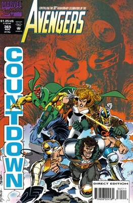 The Avengers Vol. 1 (1963-1996) (Grapa) #365