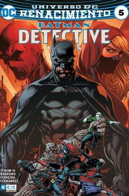 Batman: Detective Comics (Binder, páginas a color. 24x17cm.) #5