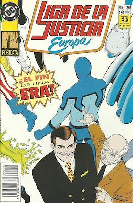 Liga de la Justicia Europa (1989-1992) (Grapa) #36