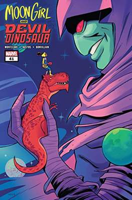 Moon Girl and Devil Dinosaur (Comic-book) #41