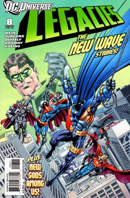 DC universe:  Legacies (Comic book) #8