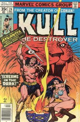 Kull the Conqueror / Kull the Destroyer (1971-1978) (comic-book) #24