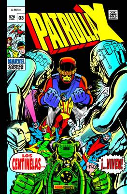 La Patrulla-X Original. Marvel Gold (Omnigold) (Cartoné) #3