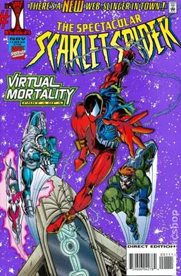 The Spectacular Scarlet Spider (1995) (Comic Book) #1