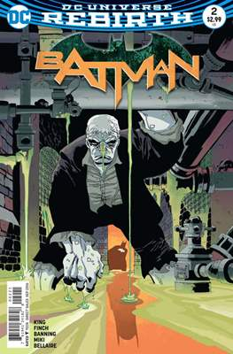 Batman Vol. 3 (2016- Variant Cover) (Comic Book) #2.1