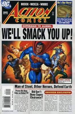 Action Comics Vol. 1 (1938-2011; 2016-) (Comic Book) #843