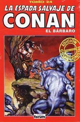 La Espada Salvaje de Conan el Bárbaro. Edición coleccionistas (Rojo) (Cartoné 192 pp) #24