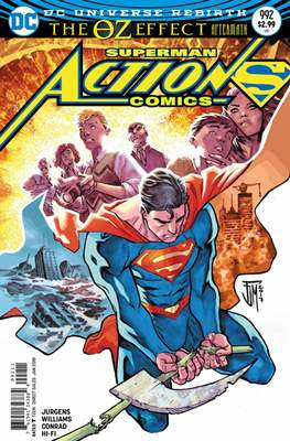 Action Comics Vol. 1 (1938-2011; 2016-) (Comic Book) #992