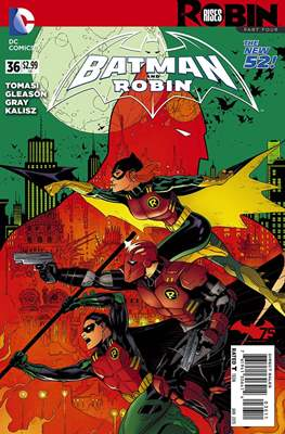 Batman and Robin Vol. 2 (2011-2015) #36