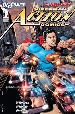 Action Comics Vol. 2 (2011-2016) #1